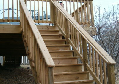 Treated Staircase
